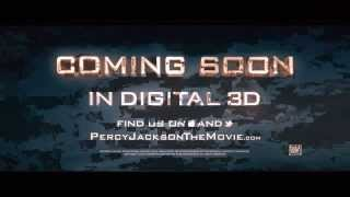 Percy Jackson 2 Sea Of Monsters Trailer (MACHINE LIVE)