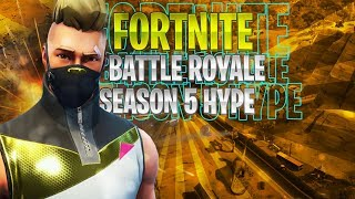 🔴 Fortnite Battle Royale Season 5 HYPE!!! | 7,500 v-bucks Giveaway!!!