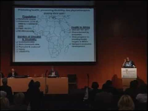 WCPT Congress - Discussion panel: Health Promotion