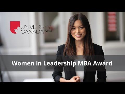 Ucw Women In Leadership Mba Award Youtube