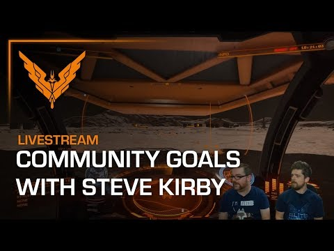 Livestream - Let's Play Community Goals with Lead Designer Steve Kirby - 21/09/17 - 7PM BST