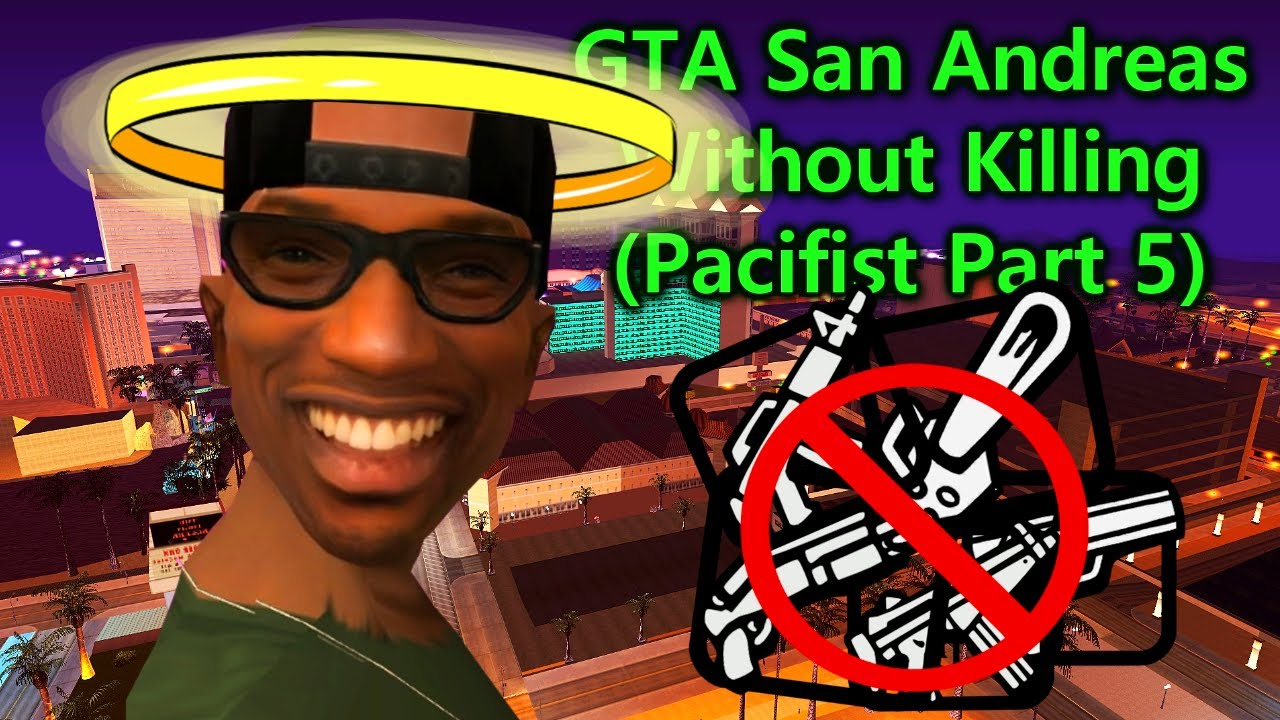 Can You Complete GTA San Andreas without Killing? (Las Venturas Missions) thumbnail