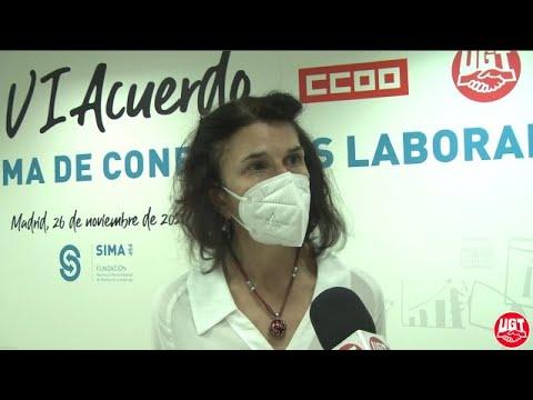 Firma VI Acuerdo de Solución Autónoma de Conflictos Laborales (ASAC)