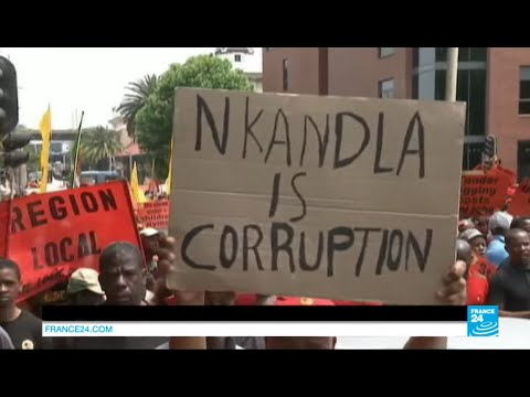 "South Africa: ""Jacob Zuma has become a thief"" - Thousands march against corruption"