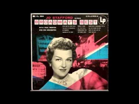 Jo Stafford   Come Rain or Come Shine