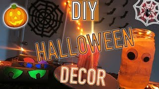 DIY Halloween Decorations! 5 Easy + Affordable Last Minute Ideas | PINTEREST INSPIRED | Kevin Rupard thumbnail