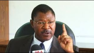 """Ford Kenya party leader remains yours truly Moses Wetangula,"" Senator affirms"