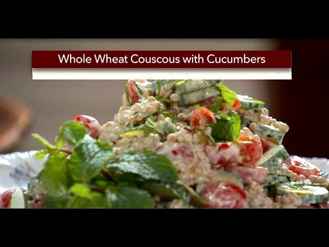 Whole Wheat Couscous Salad With Cucumbers
