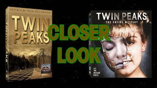 Closer Look - Twin Peaks Gold Box DVD and Entire Mystery Blu-ray Sets