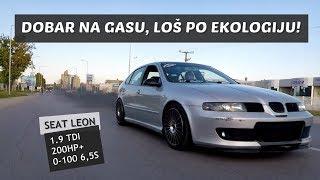 Test: Seat Leon 1.9 TDI - Dimi, ali i ide! 0-100 6,5s!