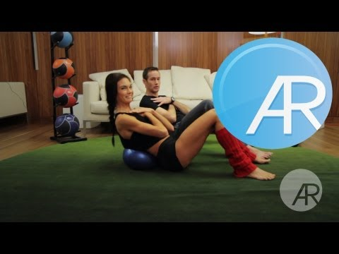 """20 Min Abs and Legs Workout with """"Dr. Oz"""" Trainer Joel Harper!"""