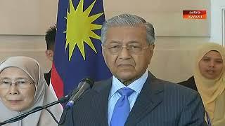 LIVE: Sidang media mesyuarat Kabinet oleh Perdana Menteri Tun Dr Mahathir Mohamad.