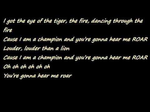 Katy Perry-Roar+lyrics (download)