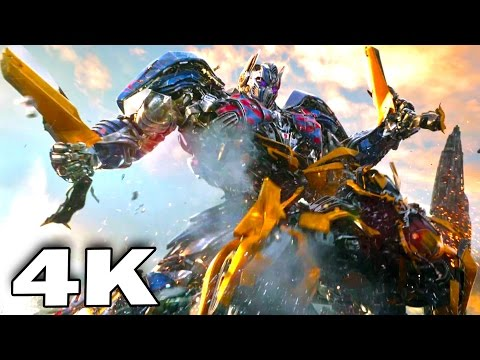 TRANSFORMERS 5 - ALL 4K Trailers (2017) Action Blockbuster Movie Ultra HD