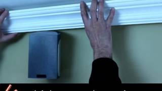 Easy Crown Molding Diy Molding, Peel & Stick It Is That Easy!