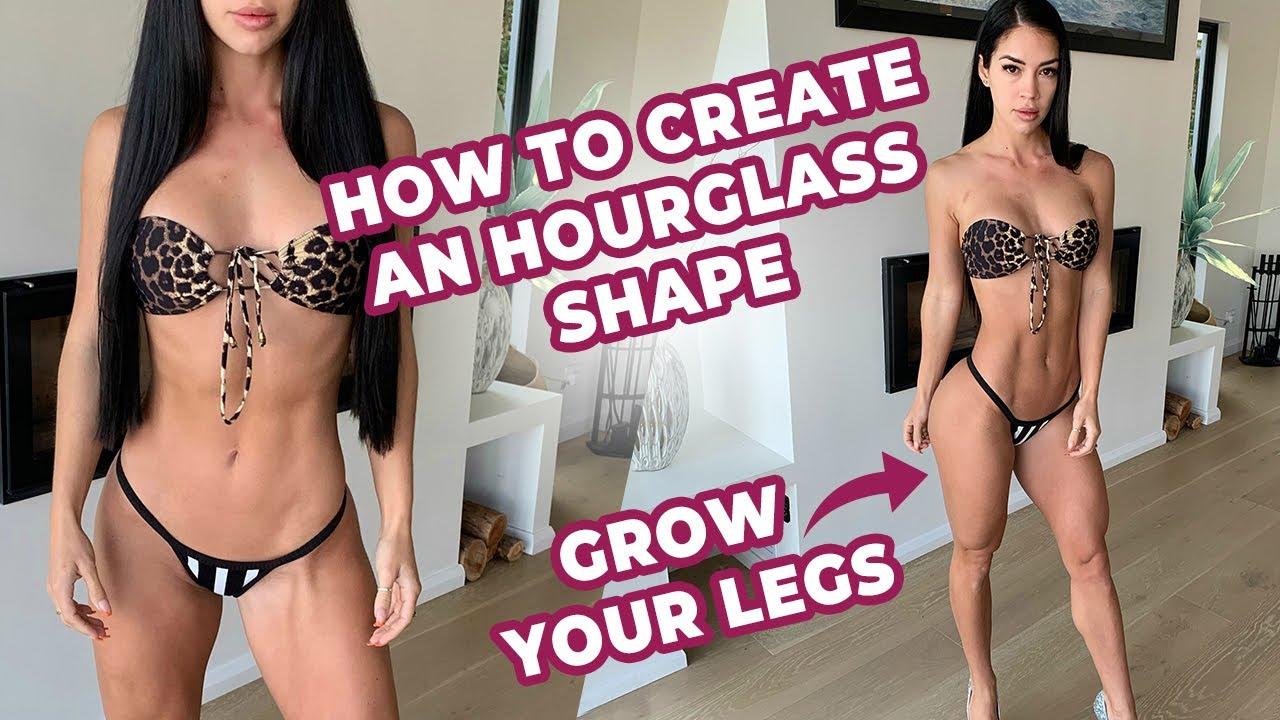 LEG WORKOUT | HOW TO CREATE AN HOURGLASS SHAPE!