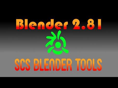 TUTORIAL Como Instalar Los SCS Blender Tools En Blender 2 81