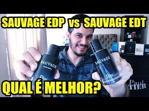 SAUVAGE EDP vs SAUVAGE EDT - Qual é o melhor? #batalhadeperfumes