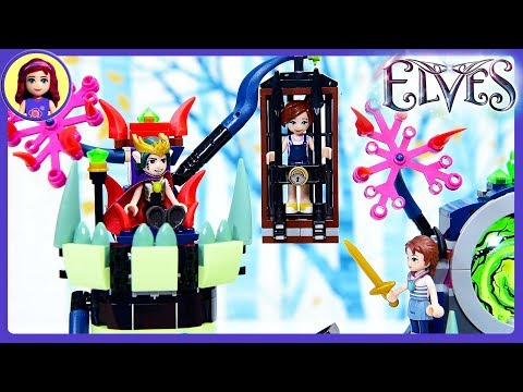 Breakout from the Goblin Fortress Lego Elves Part 2 Build Review Silly Play Kids Toys