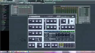 Neurofunk bassline in NI Massive (Paimon tutorial)