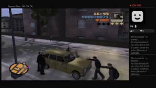 Grand Theft Auto 3 Gone Wrong - Cops Police Cruiser inside Pay 'n' Spray during the Getaway