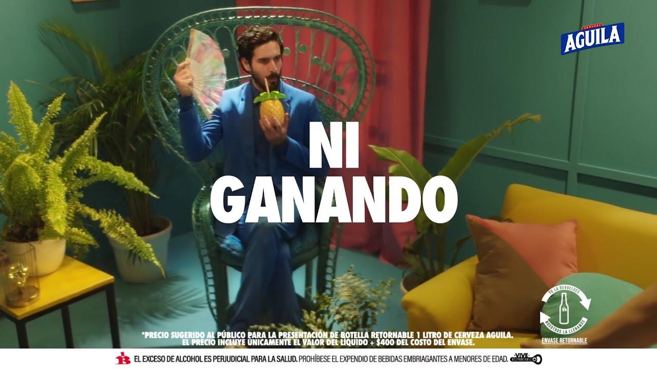CON EL LITRAZO AGUILA YA GANASTE
