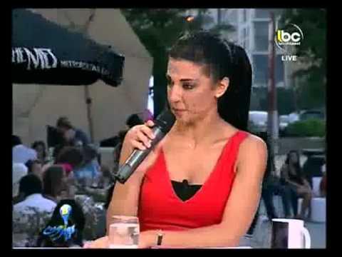 LBC Bi Beirut - Interview with Zeina Daccache-Scheherazade in Baabda at Beirut Souks- 26 June 2012