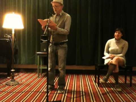 Peter Bullen (reading with Sarah Carpenter) - Bay Area Generations - May 2014 - Hotel Rex - SF
