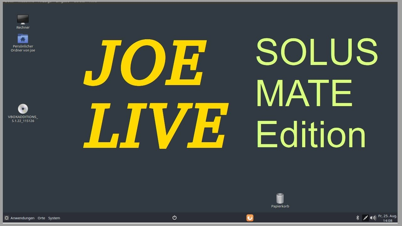 Joe Live --- Die Solus Mate Edition
