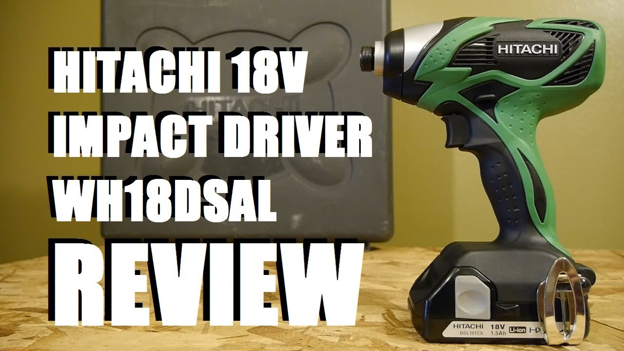 HITACHI WH18DSAL 18-VOLT LITHIUM-ION IMPACT WINDOWS 7 X64 DRIVER DOWNLOAD