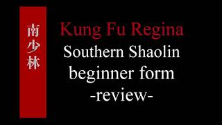 Southern Fist beginner form -- full review
