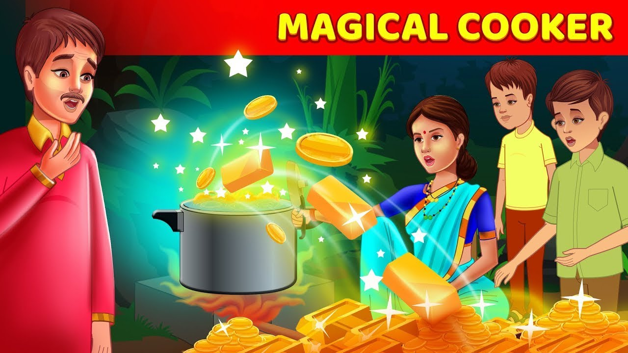 Magical Cooker Story In English