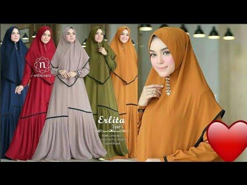 14 Model Baju Gamis Wanita Syari Terbaru 2019 2020 Youtube