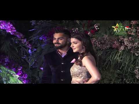 Virat Kohli   Anushka Sharma   Star Studded GRAND Mumbai Reception