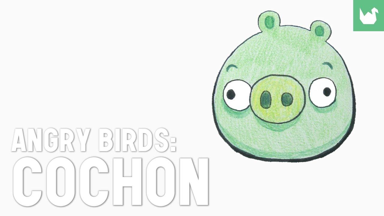 Angry birds cochon youtube - Dessin de angry birds ...