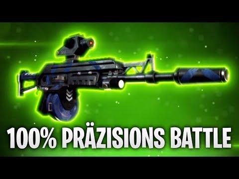 100% PRÄZISIONSBATTLE! 🎯 | Fortnite: Battle Royale