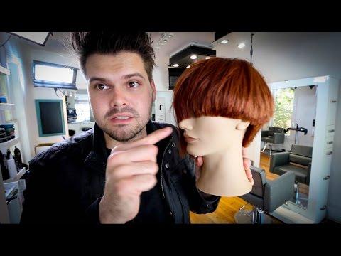 Asymmetrical Bob Haircut Tutorial Matt Beck Vlog 45 Youtube