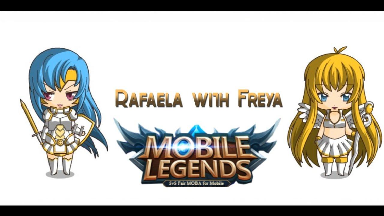 Mobile Legends Rafaela with Freya