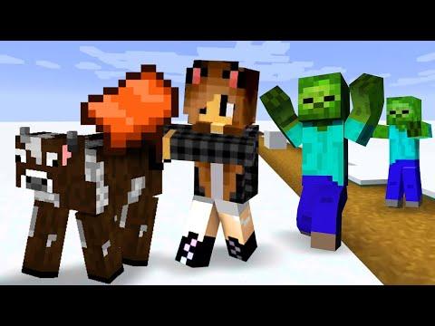 Видео игры - Майнкрафт выживание в тундре со Светой ч.3 – Летсплей Minecraft карты