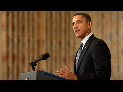 President Obama on the Situation in Egypt