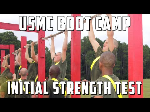 Initial Strength Test - Marine Corps Boot Camp