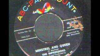 The Impressions - Minstrel and Queen, 1963