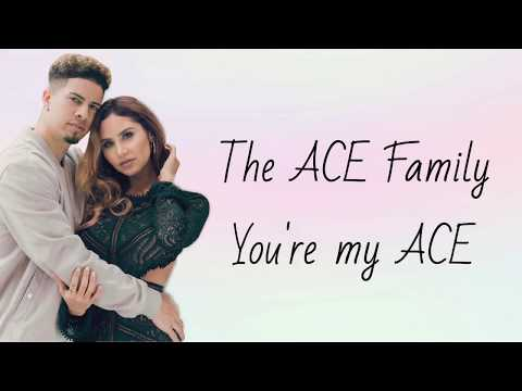 THE ACE FAMILY  YOURE MY ACE LYRICS