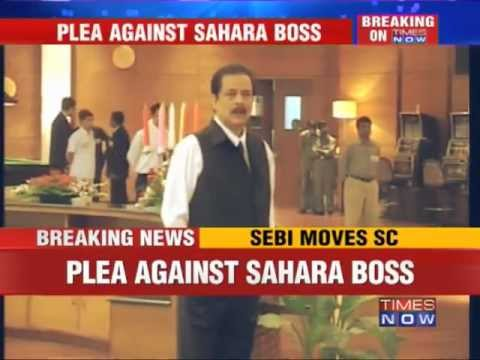 Plea against Sahara boss Subrata Roy.