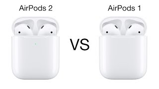 AirPods 2 VS AirPods 1   Differences Between Apple's Original AirPods & 2019 AirPods 2