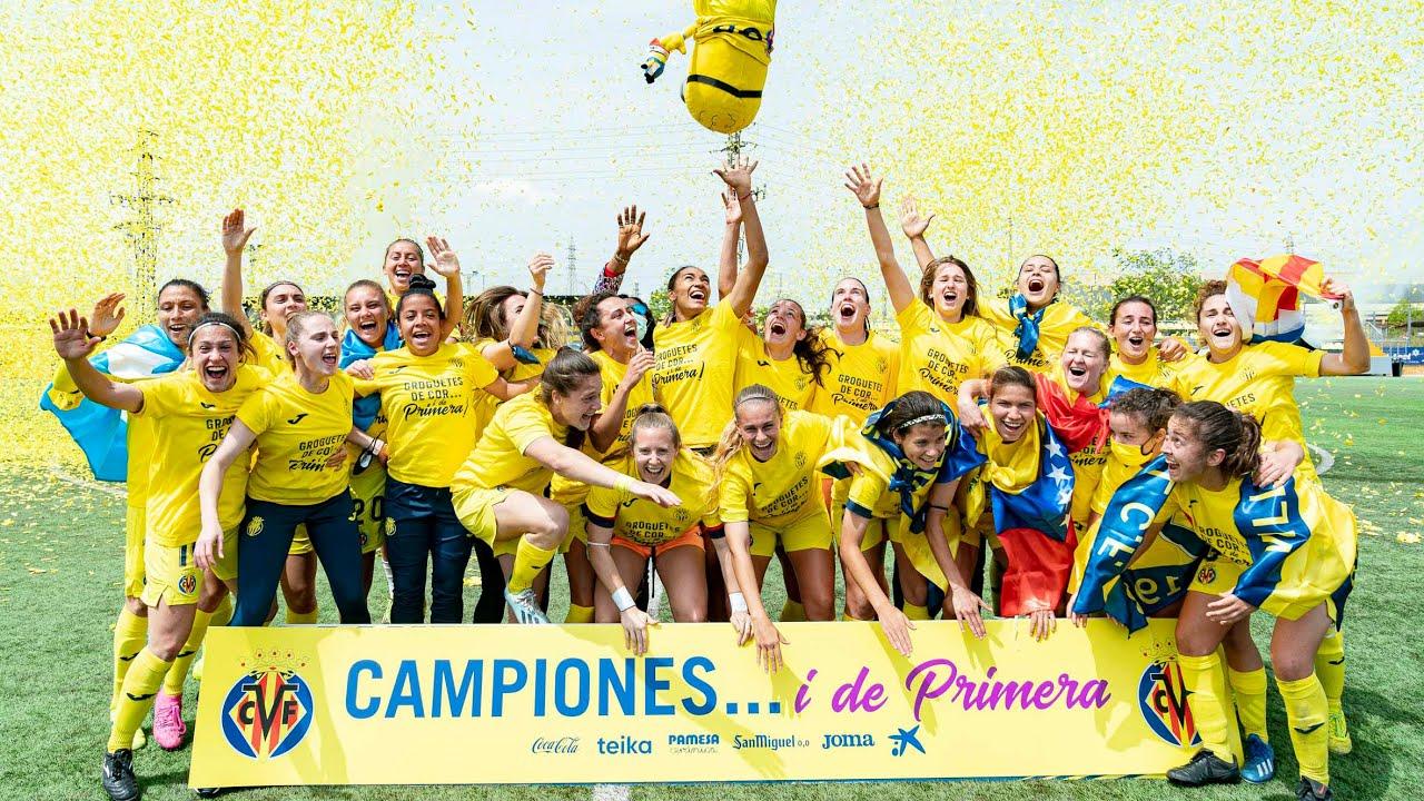 El Villarreal Femenino sube a Primera