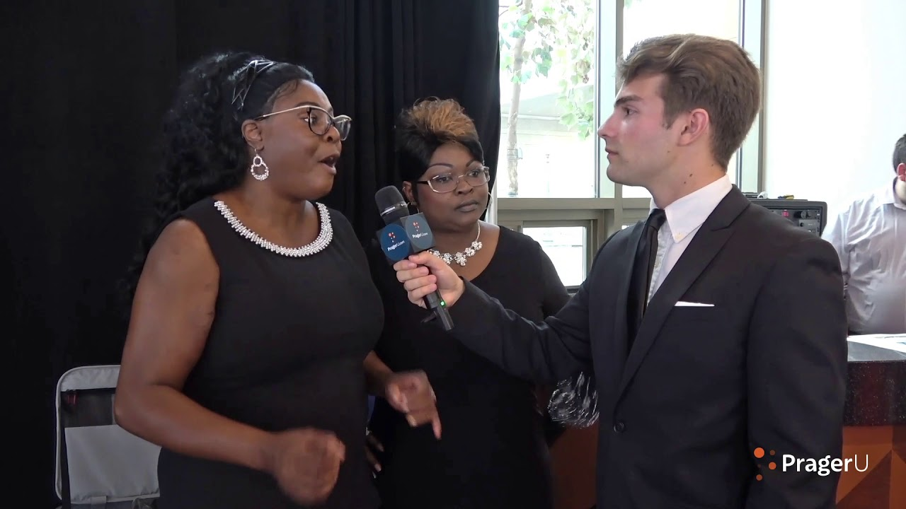 Will Witt Speaks to Diamond and Silk on the Red Carpet