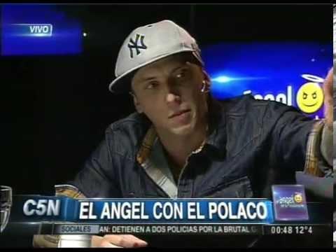 C5N - EL ANGEL DE LA MEDIANOCHE CON EL POLACO