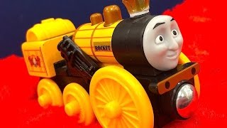 Thomas & Friends Stephen Wooden Railway Toy Train Review By Mattel Fisher Price Character Friday