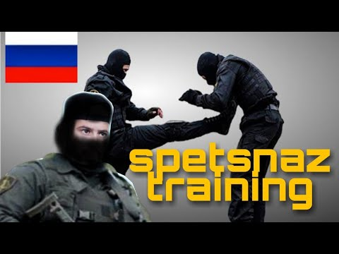 REACTION to Russian Spetsnaz Training